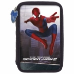 Piórnik z wyposażeniem   dwukomorowy Amazing   Spider-man 18