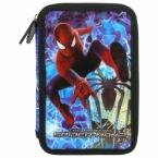 Piórnik z wyposażeniem | dwukomorowy Amazing | Spider-man 15 A