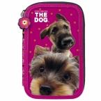 Piórnik z wyposażeniem | dwukomorowy The Dog 30