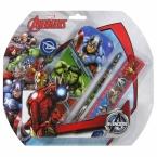 Zestaw 5 przyborów | szkolnych z piórnikiem | Avengers 99