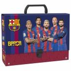 Teczka z rączką gruba | FC Barcelona