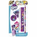 Zestaw 4 przyborów   szkolnych My Little Pony 10