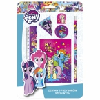 Zestaw 6 przyborów   szkolnych My Little Pony 10