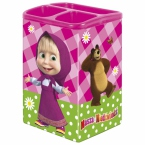 Tin pen holder | Masha and the Bear 11