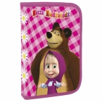 Pencil case with equipment | Masha and the Bear 11