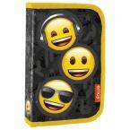 Piórnik z wyposażeniem | jednokomorowy Emoji 10