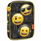 Piórnik z wyposażeniem | jednokomorowy | wielofunkcyjny Emoji 10