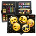 Zestaw artystyczny   71 elementów Emoji 10
