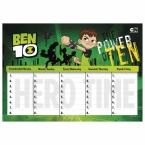Plan lekcji Ben 10