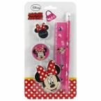 4 pcs stationery set Minnie 16
