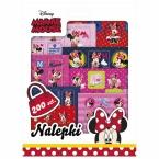 200 pcs stickers set in folder | Minnie