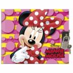 Hardcover diary with padlock | Minnie