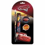 4 pcs stationery set Cars 44
