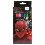 Kredki trójkątne 12 kolorów | Amazing Spider-man 11
