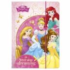 Folder with elastic | Princess