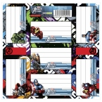 Nalepki na zeszyty | Avengers
