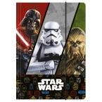 Teczka z gumką A4 | Star Wars