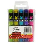 Długopisy żelowe z brokatem | 5 kolorów Minnie 11