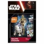 Zestaw 200 nalepek | Star Wars