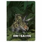 Teczka z gumką A4 Dinozaur