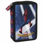 Piórnik z wyposażeniem   dwukomorowy   Spider-man Homecoming 10