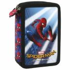 Piórnik z wyposażeniem   trójkomorowy   Spider-man Homecoming 10