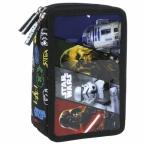 Piórnik z wyposażeniem | trójkomorowy Star Wars 16