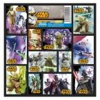 Nalepki 16x16 Star Wars