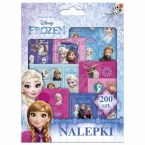 200 pcs stickers set in folder | Frozen