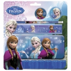 5 pcs stationery set with | pencil case B Frozen