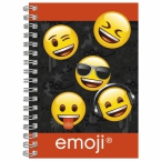 Spiral notebook A6 Emoji