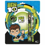 Zestaw 4 przyborów | szkolnych Ben 10 10