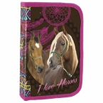 Pencil case with equipment | Horses 16