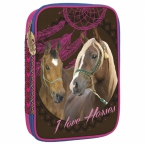 Multifunctional pencil case | Horses 16