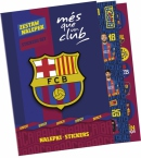 Zestaw 200 nalepek   FC Barcelona