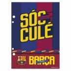 Wkład do segregatora A5/A6   FC Barcelona