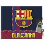Pamiętnik w oprawie twardej   FC Barcelona