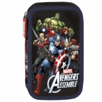 Piórnik z wyposażeniem | dwukomorowy Avengers 10