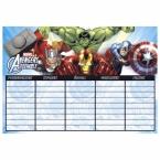 Plan lekcji Avengers